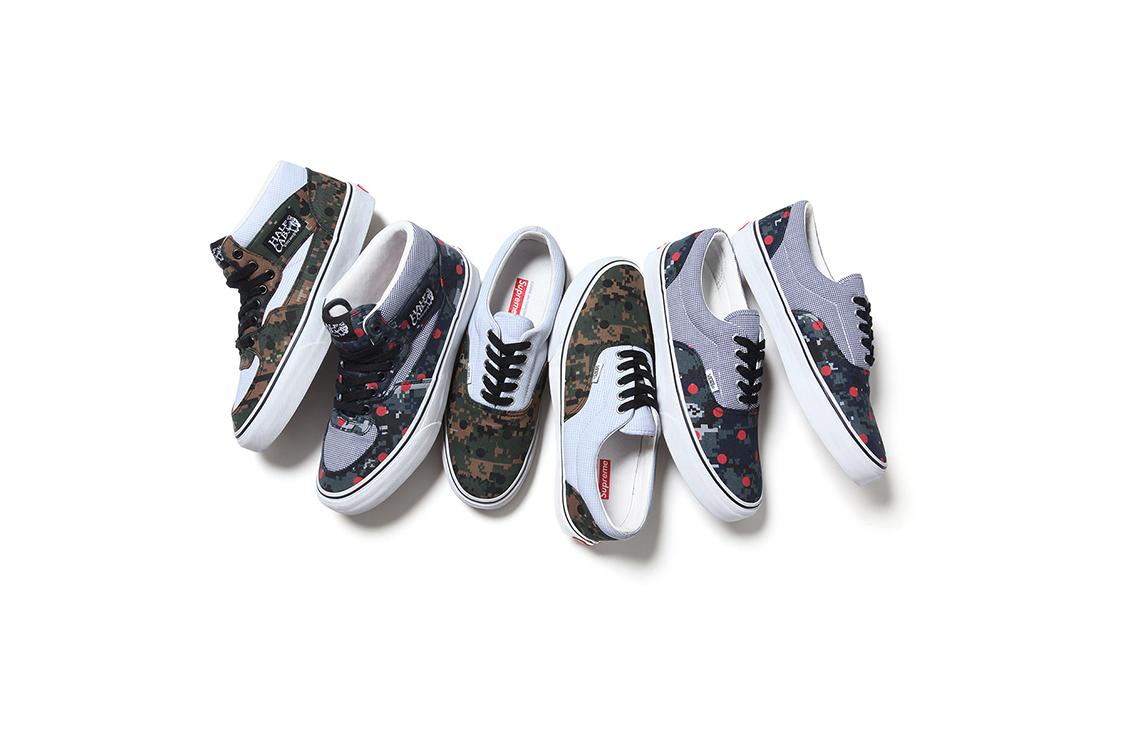 Supreme x Comme Des Garcons x Vans Spring Summer 2013 Sneakers