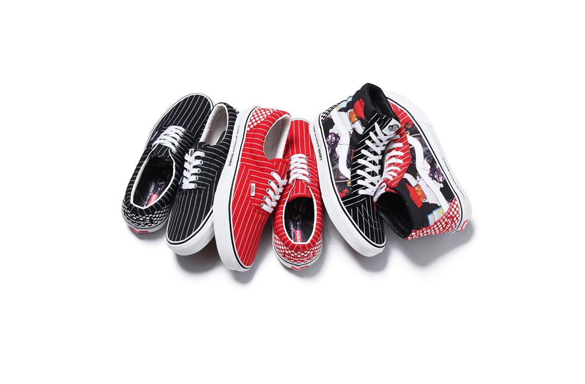 Supreme x Comme Des Garcons x Vans Spring Summer 2014 Sneakers